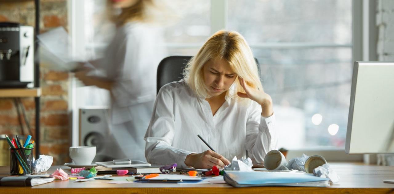 Unzufriedenheit im Job?
